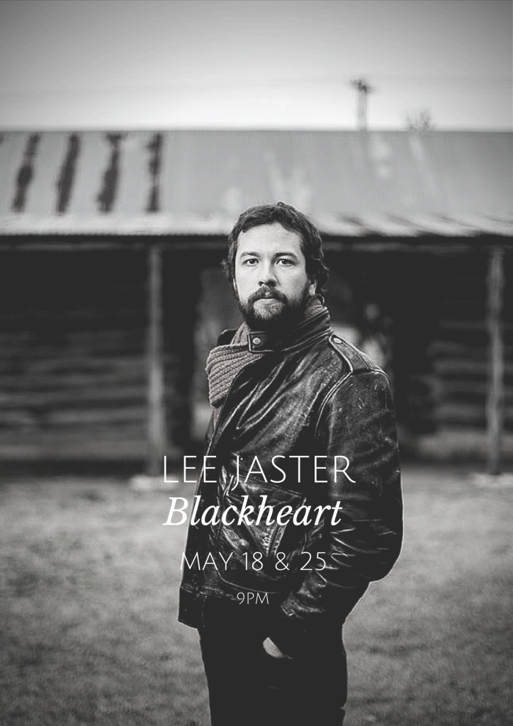 lee jaster blackheart austin texas may poster 2015