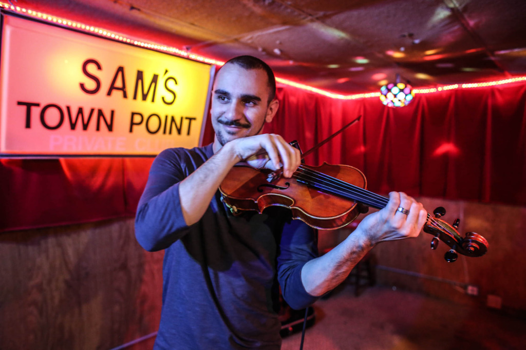 Benjamin Levy at Sam's Town Point. Photography by Geofferson Cole.