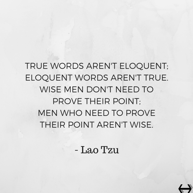 Lao Tzu quote (meme) from Tao Te Ching, 81.